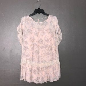 NWOT Loft paisley print shift dress size SP